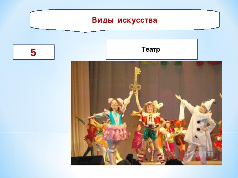Виды искусства 5 Театр