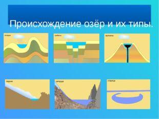 Ледниковые озёра Ладожское озеро Онежское озеро