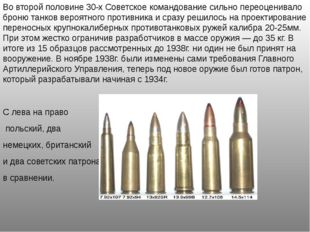 Во второй половине 30-х Советское командование сильно переоценивало броню тан