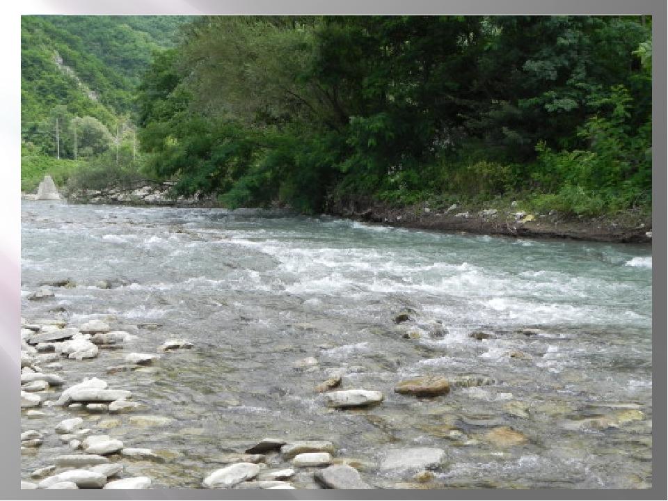 Наш город носит имя реки Туапсе, которая берёт свое начало из слияния двух ре...