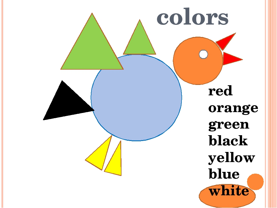 colors red orange green black yellow blue white