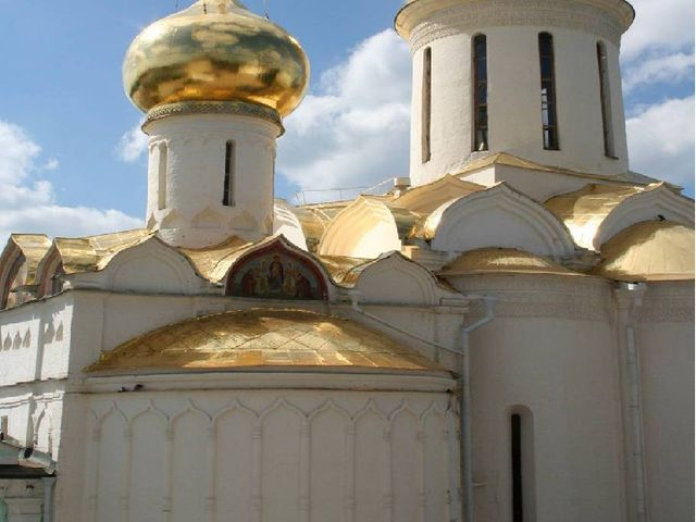 Троицкий собор. Троице-Сергиева монастыря