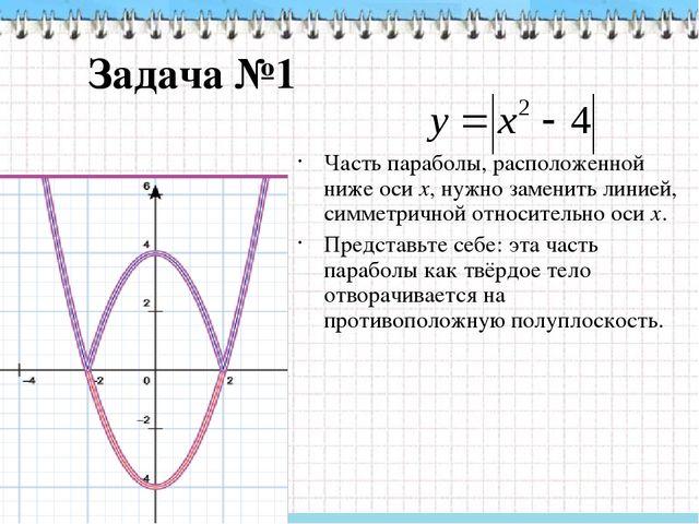 Задача №2 1. Воспользовавшись определением модуля числа, заменим формулу Если...