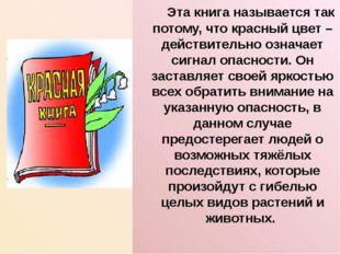 Эта книга называется так потому, что красный цвет – действительно означает с