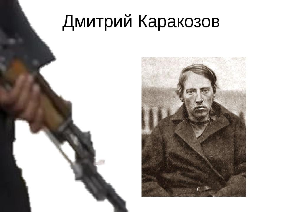 Дмитрий Каракозов