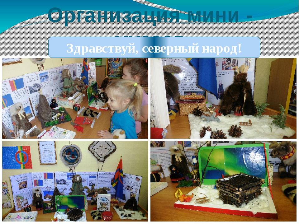 Организация мини - музеев Здравствуй, северный народ!