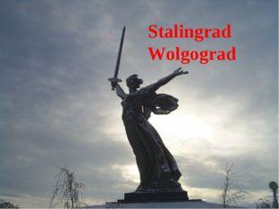 Leningrad Sewastopol Stalingrad Wolgograd