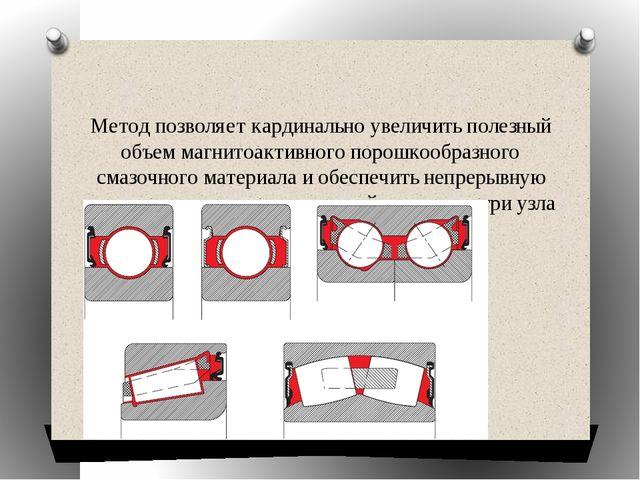 Метод позволяет кардинально увеличить полезный объем магнитоактивного порошк...