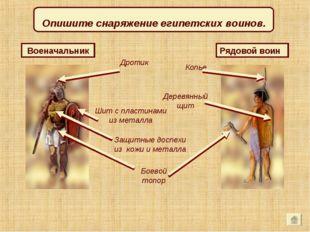 Рядовой воин Копье Военачальник Боевой топор Дротик Защитные доспехи из кожи