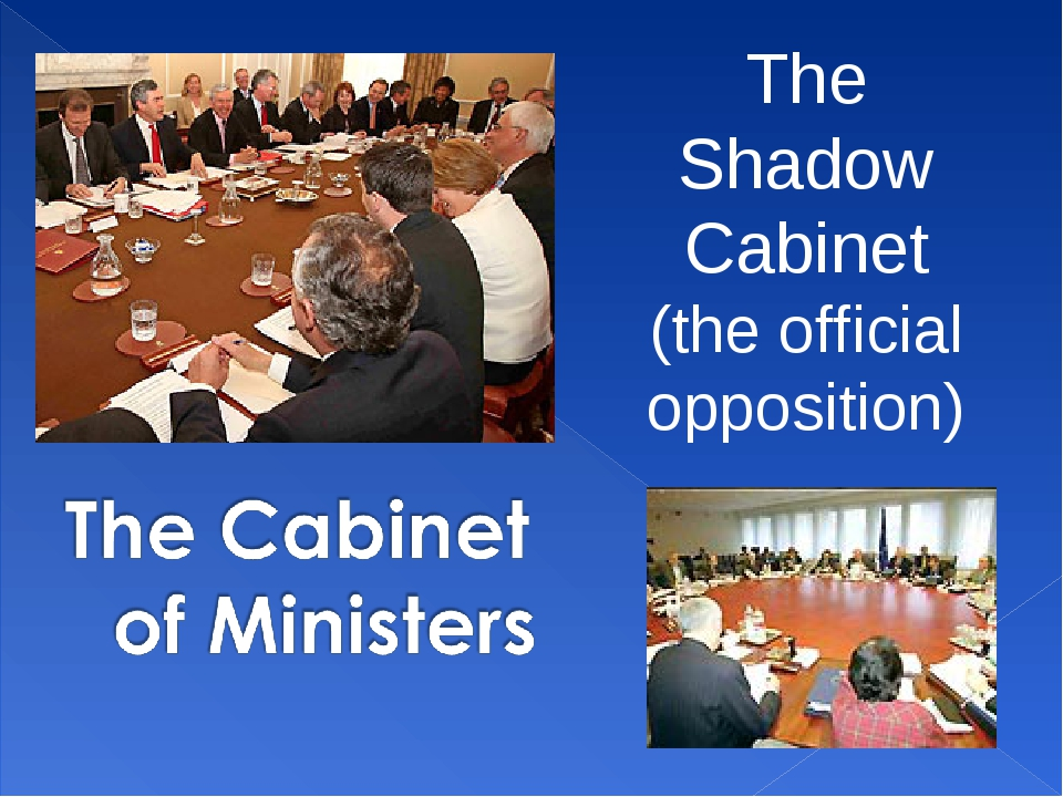 The Shadow Cabinet (the official opposition)