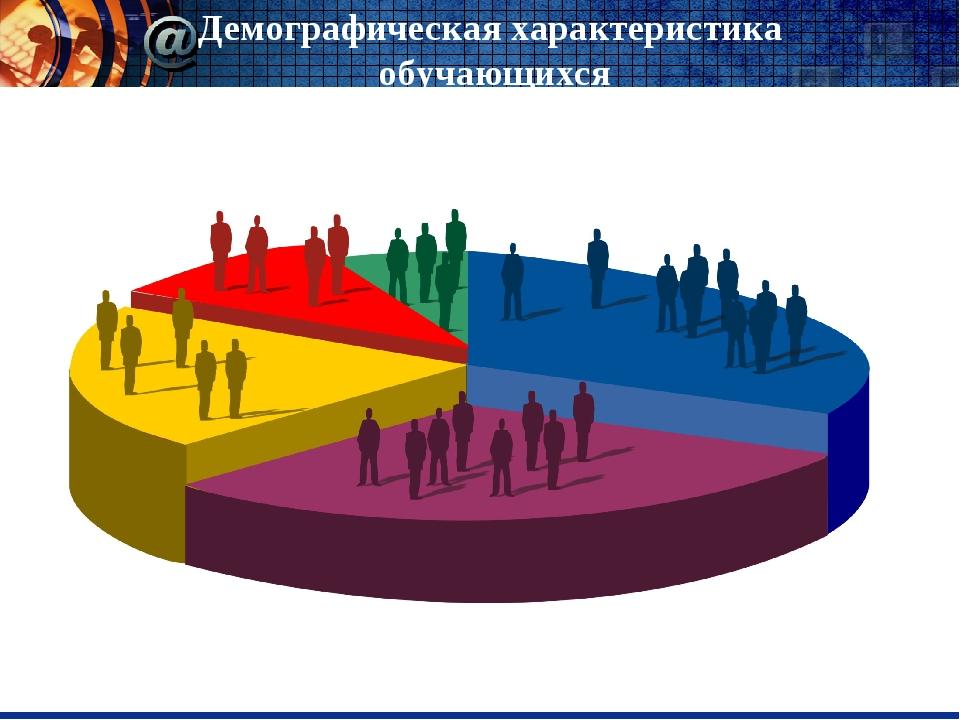 Демографическая характеристика обучающихся