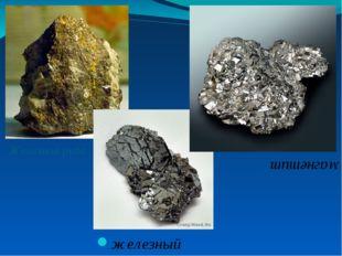Железная руда железный блеск магнетит