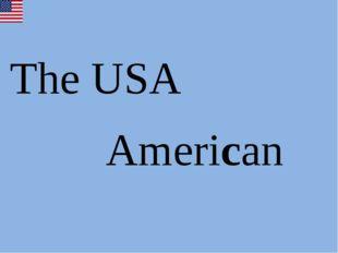 The USA American