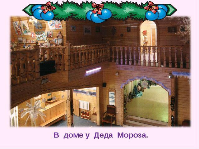 В доме у Деда Мороза.