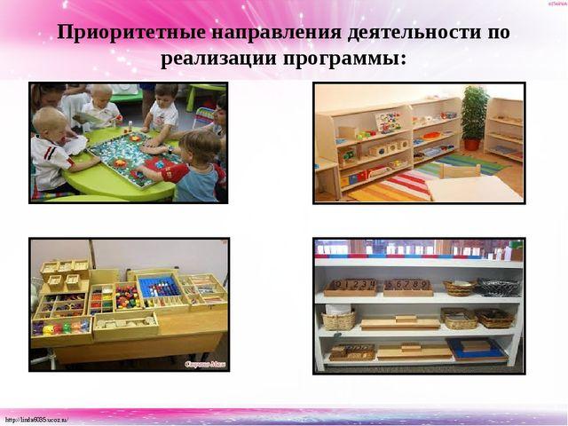 Приоритетные направления деятельности по реализации программы: http://linda60...