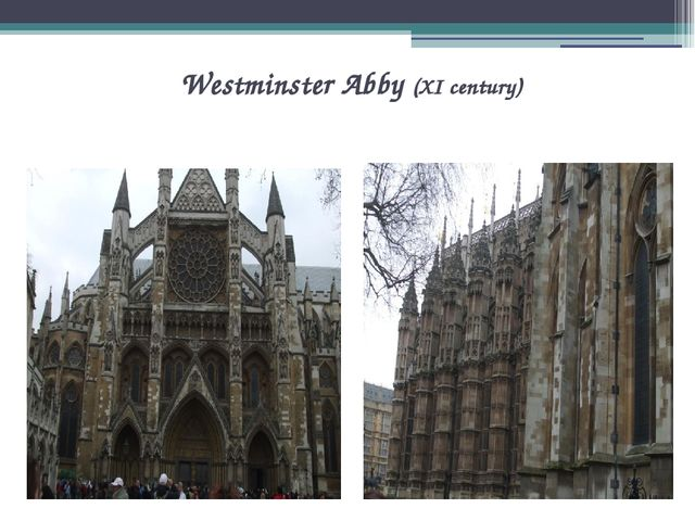 Westminster Abby (XI century)