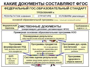 Примерная основная образовательная программа НОО Требования к кадрам и т.п. К