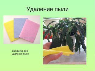 Удаление пыли Салфетка для удаления пыли