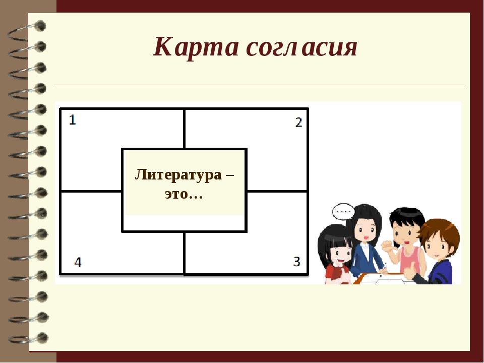 Карта согласия