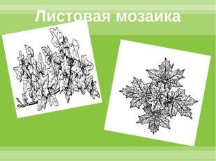 Листовая мозаика