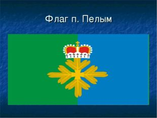 Флаг п. Пелым