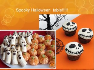 Spooky Halloween table!!!!!