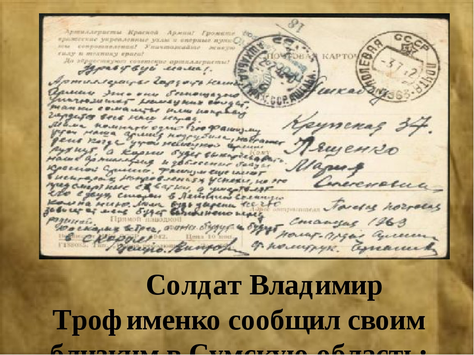 Солдат Владимир Трофименко сообщил своим близким в Сумскую область: «Мы нане...