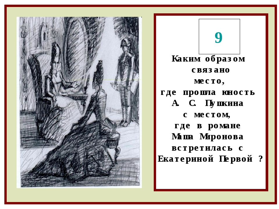 Каким образом связано место, где прошла юность А. С. Пушкина с местом, где в...