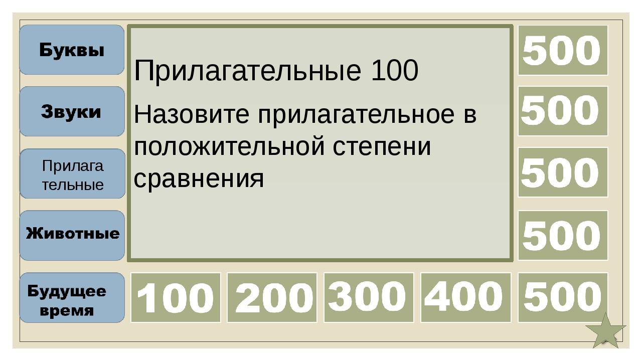 Прилагательные 300 Назовите превосходную степень сравнения прилагательного in...