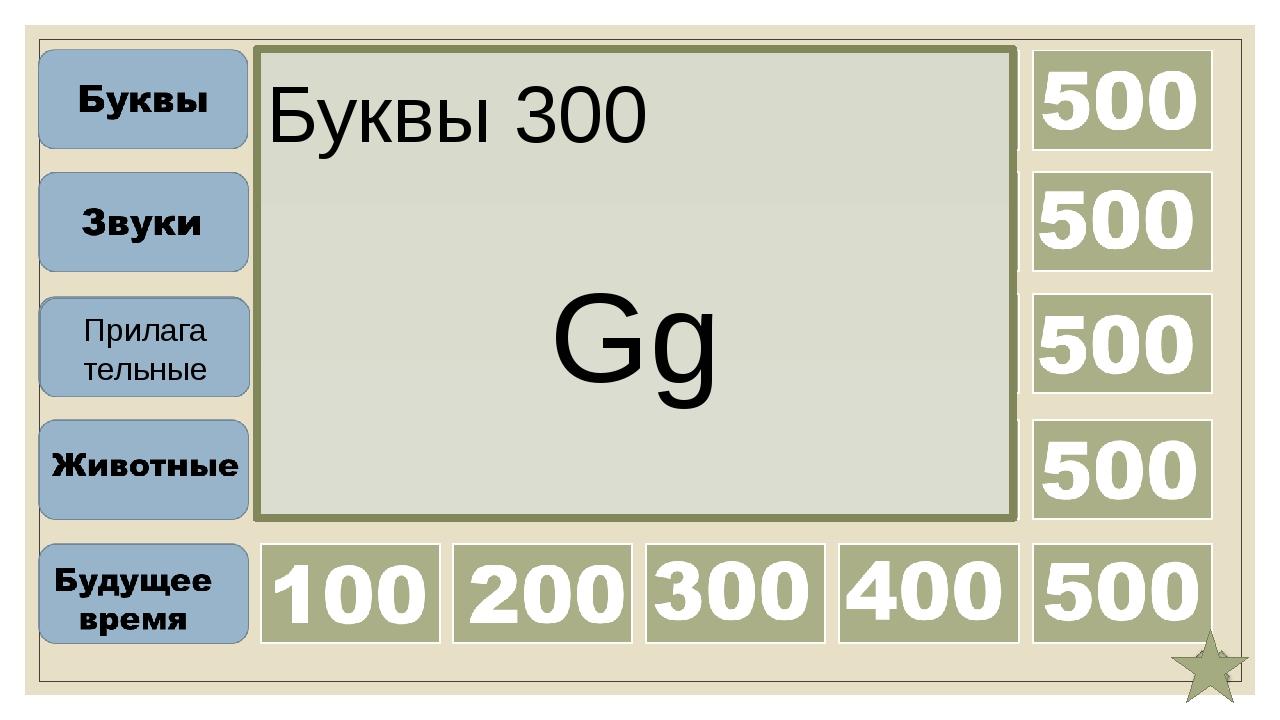 Буквы 400 Jj Прилага тельные