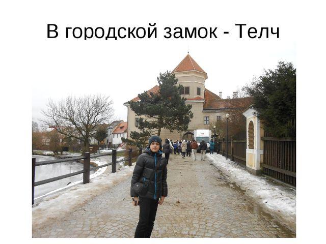 В городской замок - Телч