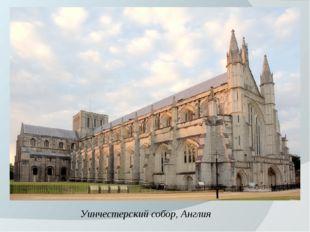 Уинчестерский собор, Англия