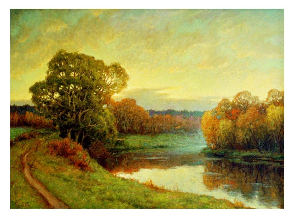 пейзажи стихи есенина чем через