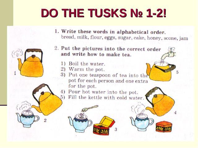 DO THE TUSKS № 1-2!