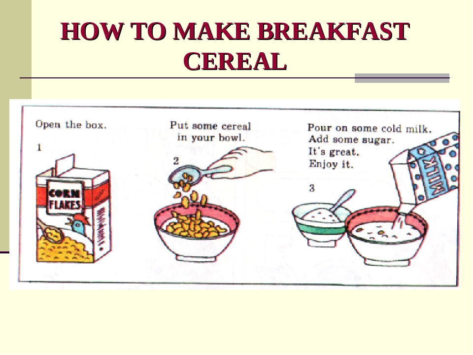 HOW TO MAKE BREAKFAST CEREAL