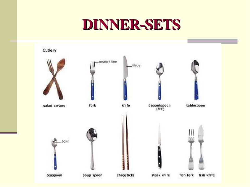 DINNER-SETS
