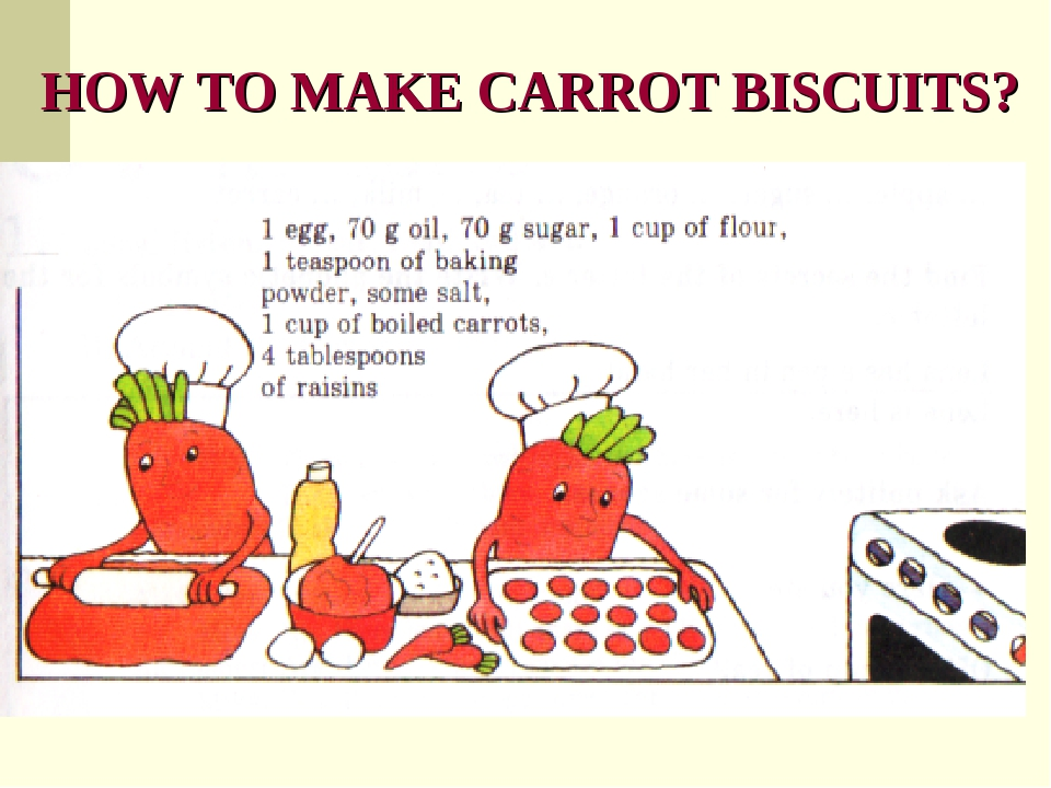 HOW TO MAKE CARROT BISCUITS?