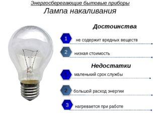 Энергосберегающие бытовые приборы Компактная люминесцентная лампа экономия э