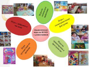 Дидактические игры по ФЭМП у дошкольников Игры с цифрами и числами Игры путе