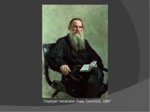 Портрет писателя Льва Толстого, 1887