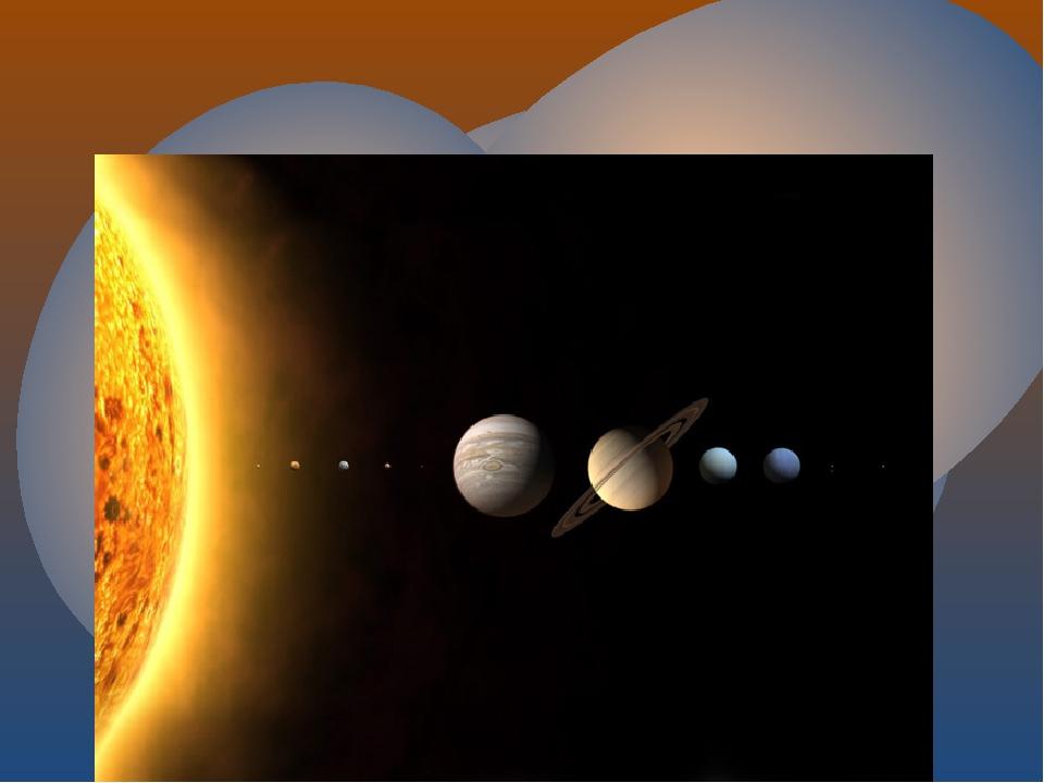 На этой картинке ты можешь увидеть какие разные по размеру бывают планеты и...