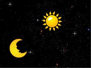 Космические загадки В небе виден желтый круг И лучи, как нити. Вертится Земля