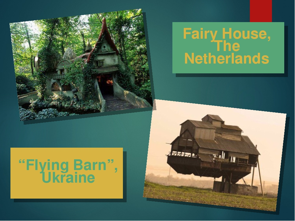 """Flying Barn"", Ukraine Fairy House, The Netherlands"