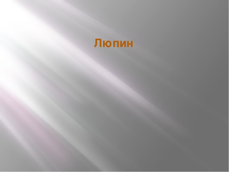 Люпин
