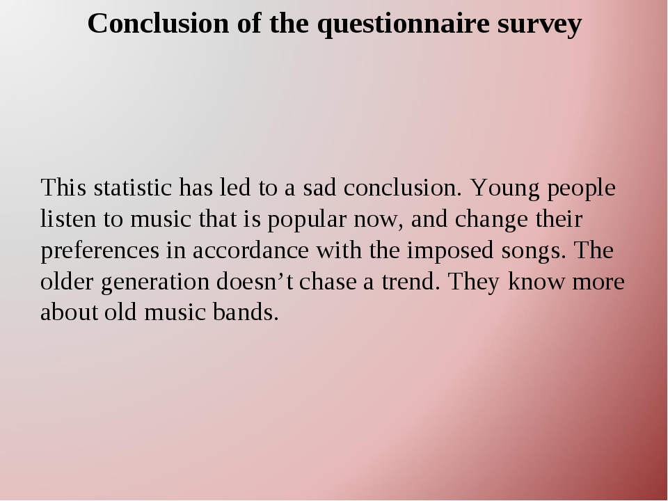 the questionnaire about korean trend and