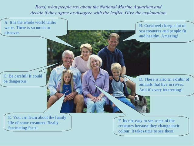 Read, what people say about the National Marine Aquarium and decide if they a...