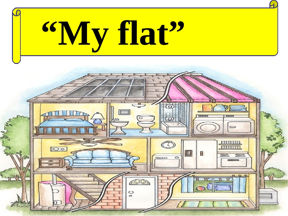 """My flat"" Ашық сабақтар"
