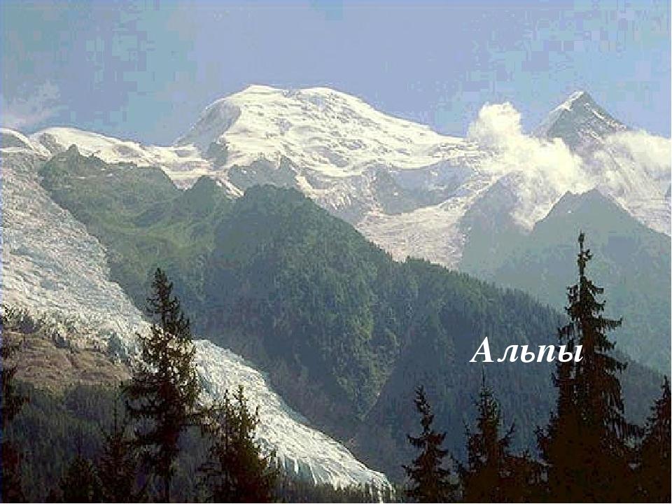 Альпы