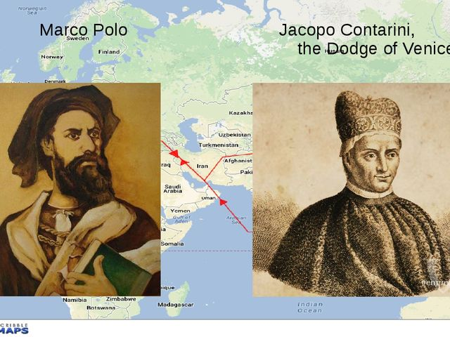 Marco Polo Jacopo Contarini, the Dodge of Venice
