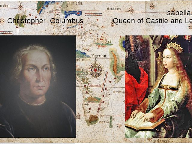 Isabella, Christopher Columbus Queen of Castile and Leon